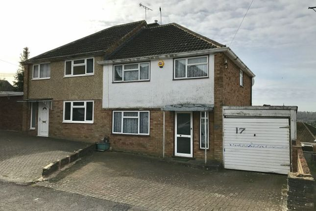 Thumbnail Semi-detached house for sale in Sussex Close, High Wycombe