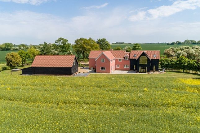 Thumbnail Detached house for sale in Metfield, Harleston
