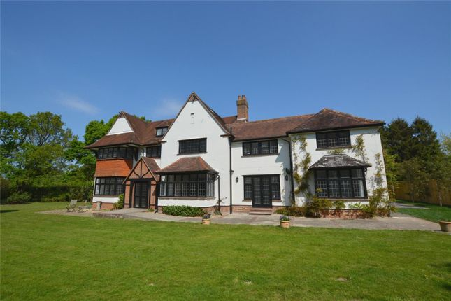 Thumbnail Detached house for sale in Coombe Lane, Sway, Lymington, Hampshire