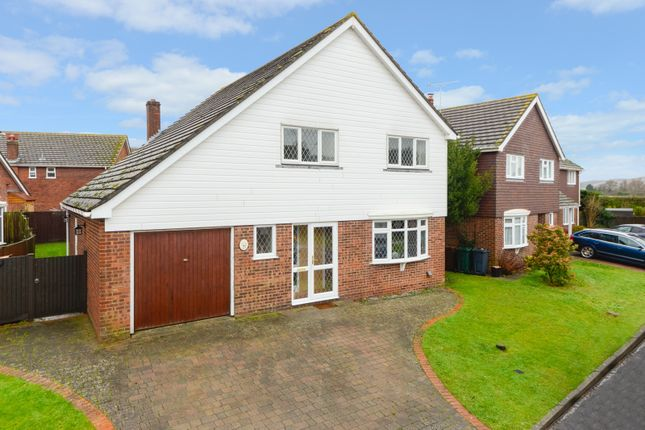 Thumbnail Detached house for sale in Mountbatten Way, Brabourne Lees, Ashford