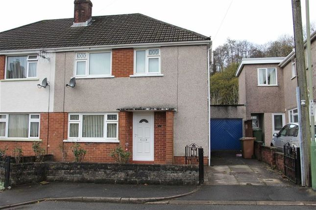 Thumbnail Semi-detached house for sale in Heol-Y-Graig, Ystrad Mynach, Hengoed