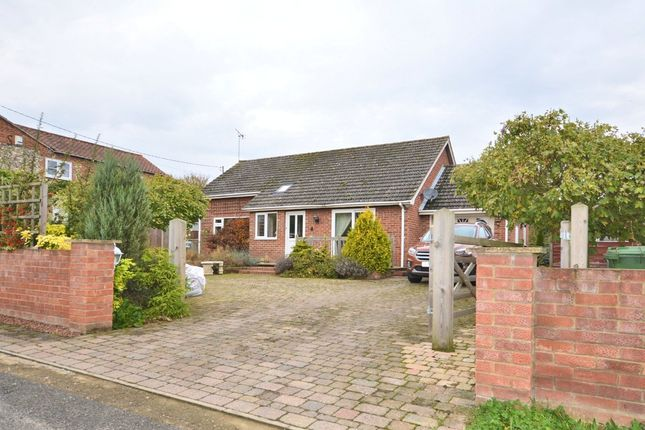 Thumbnail Detached bungalow for sale in Mill Road, Bintree, Dereham