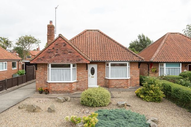 Thumbnail Bungalow for sale in Grants Avenue, Fulford, York