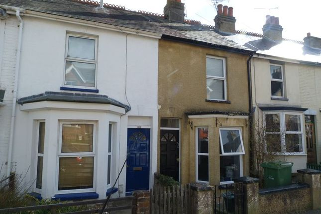 Thumbnail Terraced house to rent in Tennyson Road, Cowes