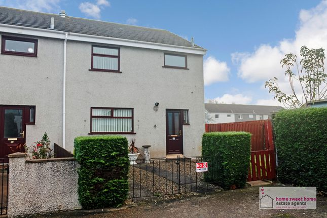 Thumbnail End terrace house to rent in Wallace Place, Culloden, Inverness