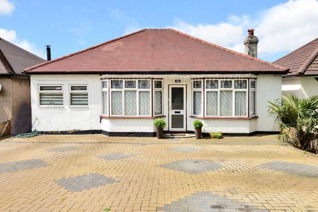 Thumbnail Detached bungalow for sale in St Dunstans Hill, Cheam, Surrey