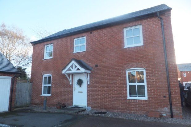 Thumbnail Property to rent in Bains Drive, Lichfield