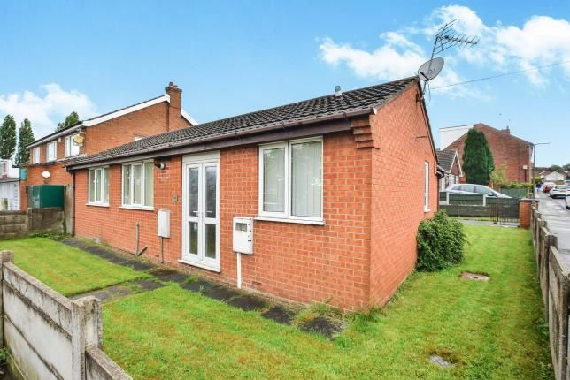 Thumbnail Bungalow for sale in Nuncargate Road, Kirkby-In-Ashfield, Nottingham