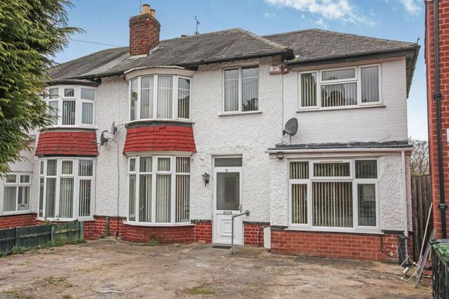 Thumbnail Semi-detached house for sale in Tennis Court Drive, Leicester