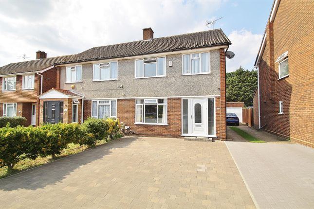 Thumbnail Semi-detached house to rent in Lynton Close, Isleworth