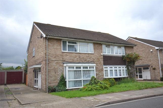 Thumbnail Semi-detached house for sale in Hoylake Gardens, Mitcham
