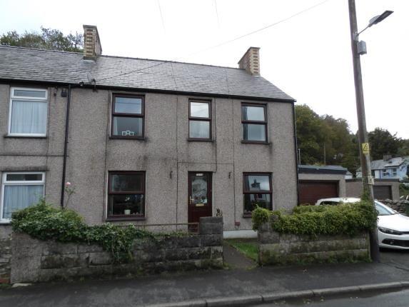 Thumbnail End terrace house for sale in Cwm-Y-Glo, Caernarfon, Gwynedd