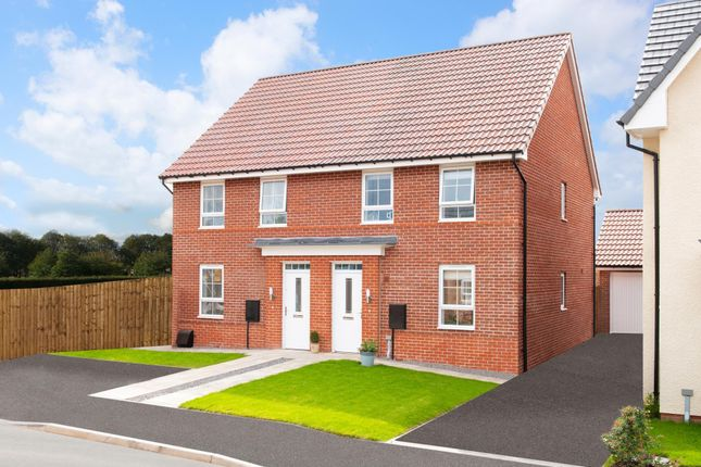 """Thumbnail Semi-detached house for sale in """"Finchley"""" at Acacia Way, Edwalton, Nottingham"""