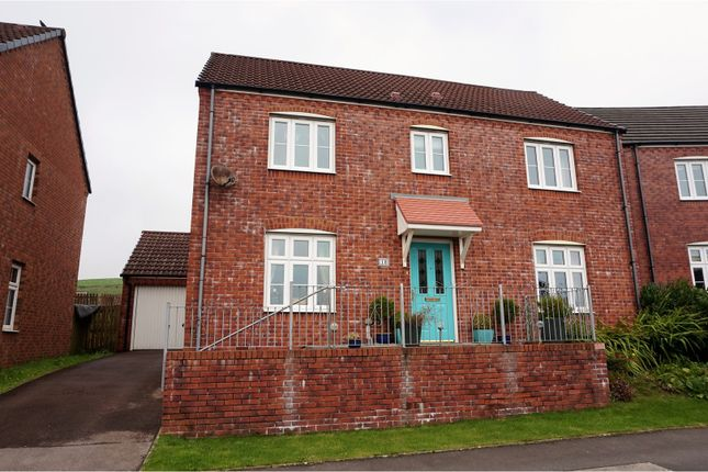 Thumbnail Detached house for sale in Llewellyns View, Porth