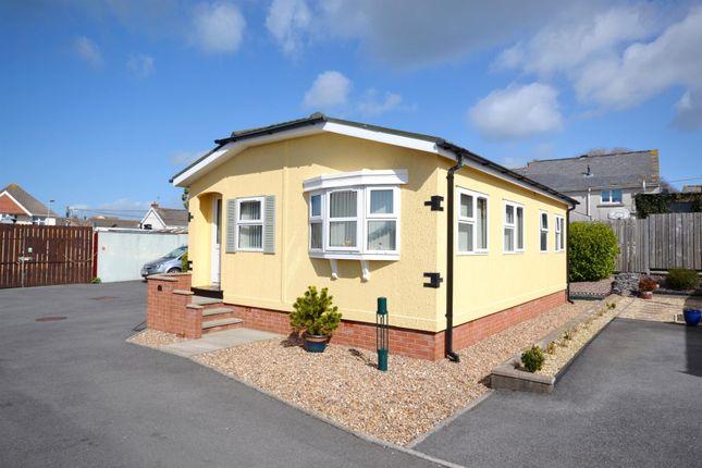 Thumbnail Mobile/park home for sale in Carmarthen Road, Kilgetty