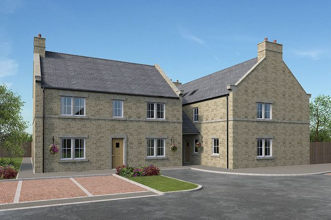 Thumbnail 4 bedroom link-detached house for sale in Hawthorn Court, Peak Dale