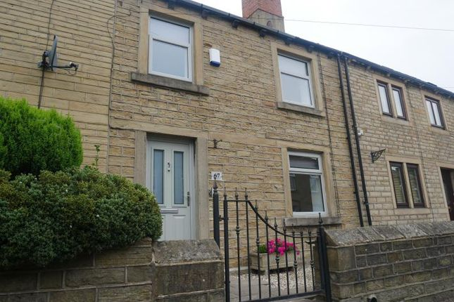 3 bed terraced house to rent in Town End, Almondbury, Huddersfield HD5