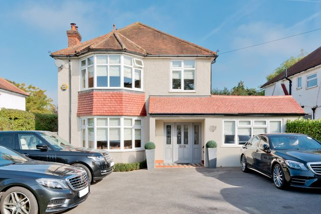 Thumbnail Detached house for sale in Cheam Road, East Ewell Surrey