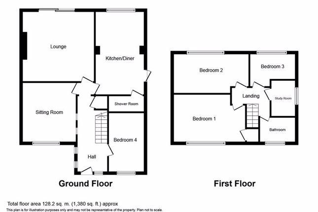 Floor Plan of Skegness Close, Bury BL8