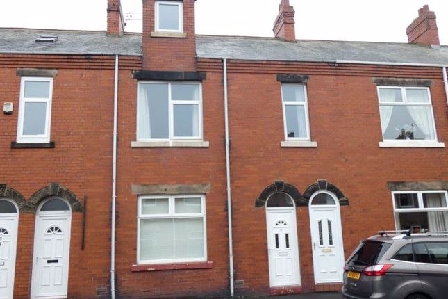 Thumbnail 3 bed flat for sale in Hartley Street, Seaton Delaval, Whitley Bay