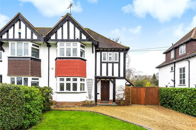 Thumbnail Semi-detached house for sale in Manor Way, Petts Wood, Orpington