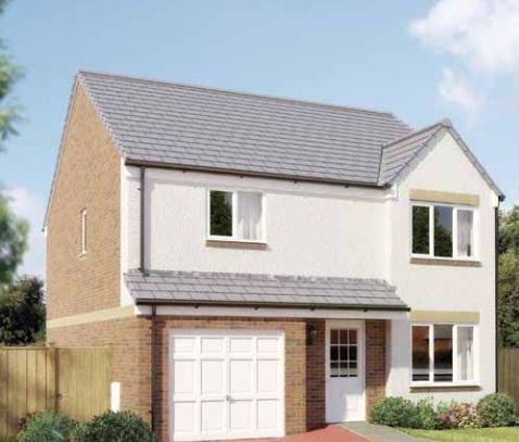 "Thumbnail Detached house for sale in ""The Balerno"" at Cygnet Drive, Dunfermline"