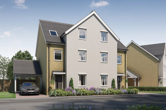 Thumbnail Semi-detached house for sale in Wycombe Close, Littlemore, Oxford