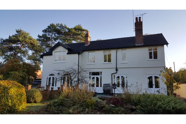 Thumbnail Detached house for sale in West Road, Northwich