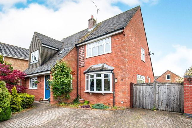 Thumbnail Detached house to rent in Cleycourt Road, Shrivenham, Swindon