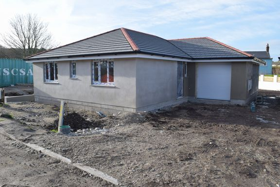 Thumbnail Detached bungalow for sale in Higher Pengegon, Pengegon, Camborne