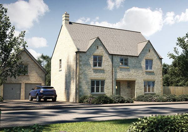 """Thumbnail Detached house for sale in """"The Bolberry"""" at Cirencester Road, Fairford"""
