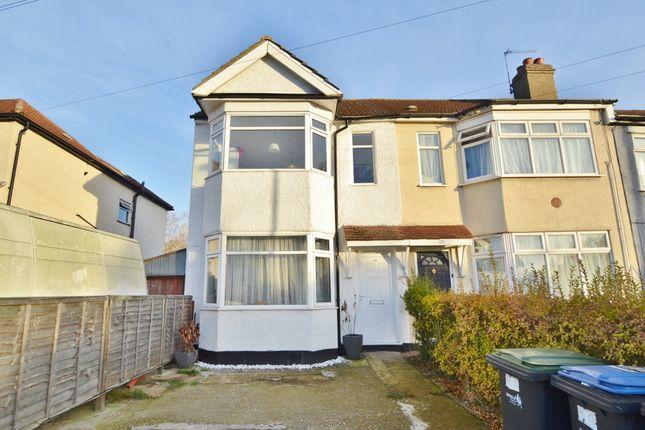 Thumbnail End terrace house for sale in Pembroke Avenue, Enfield