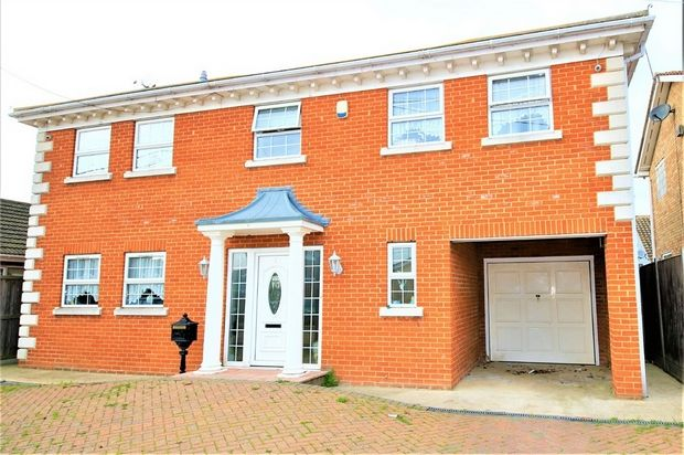 Thumbnail Detached house for sale in Hannett Road, Canvey Island, Essex