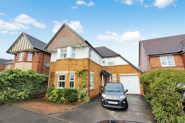 Thumbnail Detached house for sale in Princetown Close, Longton, Stoke-On-Trent