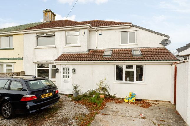 Thumbnail Semi-detached house for sale in Beacon Park Road, Plymouth, Plymouth