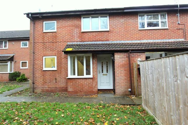 Thumbnail End terrace house to rent in Burnet Close, Swindon