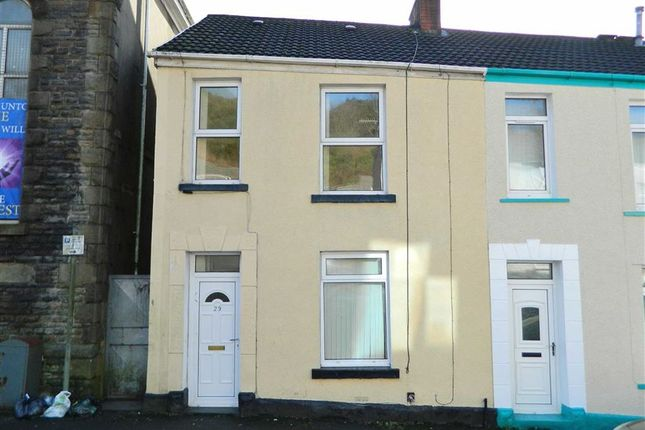 Thumbnail End terrace house for sale in North Hill Road, Mount Pleasant, Swansea