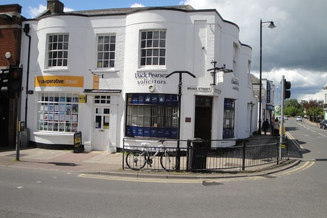 Thumbnail Office to let in Broad Street, March, Cambridgeshire