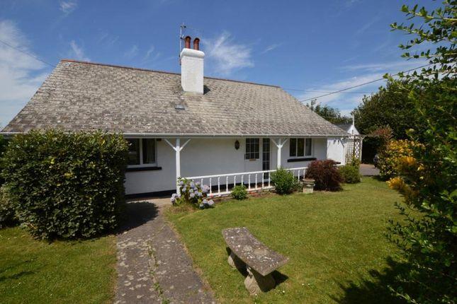 Thumbnail Detached bungalow for sale in Cheriton Bishop, Exeter, Devon