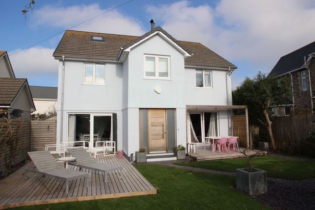 Thumbnail Detached house for sale in West Pentire Road, Crantock, Newquay