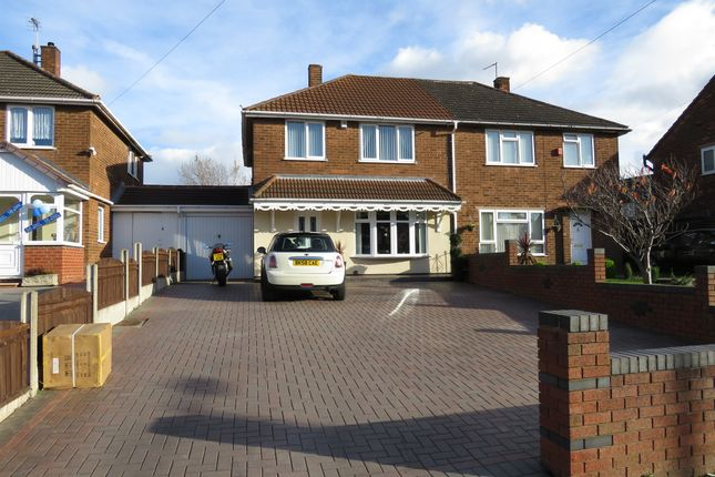 Thumbnail Semi-detached house for sale in Kent Road, Wednesbury