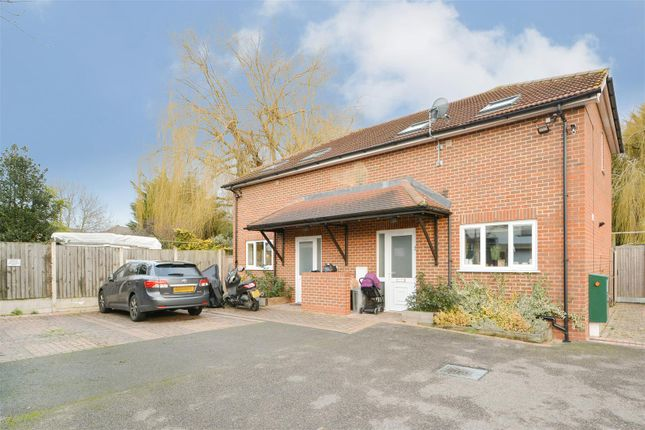 Thumbnail Semi-detached house to rent in Nolands Close, Romford
