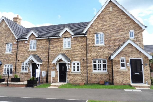 Thumbnail Terraced house to rent in Conder Boulevard, Shortstown, Bedford