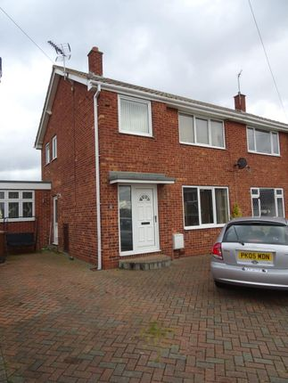 Thumbnail Semi-detached house to rent in Sandal Rise, Thorpe Audlin, Pontefract
