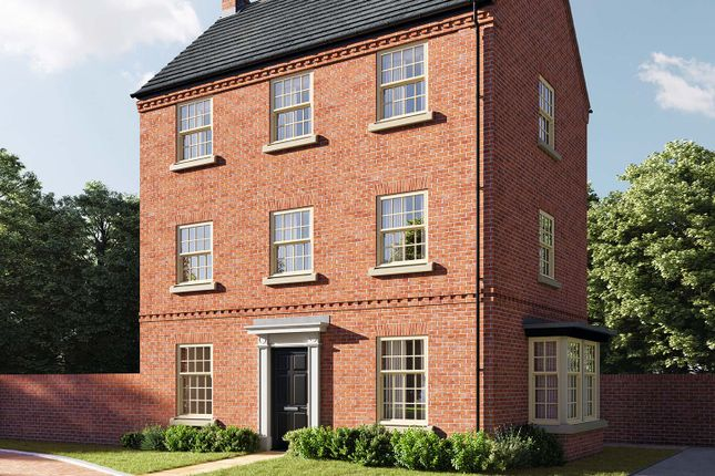 """4 bed detached house for sale in """"The Moulton"""" at Central Avenue, Brampton, Huntingdon PE28"""