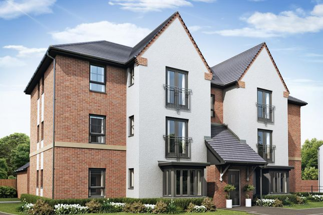 "Thumbnail Flat for sale in ""Foxton"" at Farriers Green, Lawley Bank, Telford"