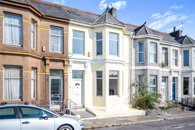 Thumbnail Terraced house for sale in Knighton Road, Plymouth