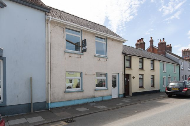 Thumbnail Terraced house for sale in St. James Street, Narberth