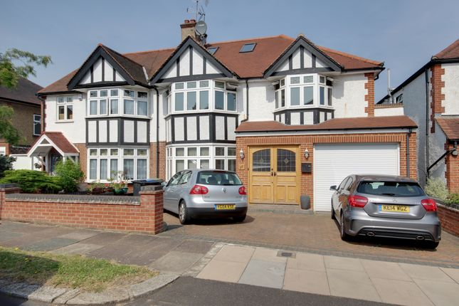 Semi-detached house for sale in Hoodcote Gardens, Winchmore Hill