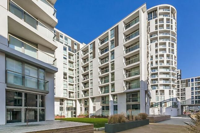 Thumbnail 1 bed flat for sale in Trinity Tower, 28 Quadrant Walk, Isle Of Dogs, London